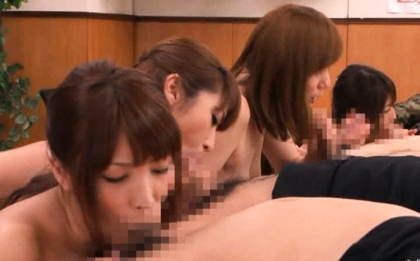 Japanese dolls in some crazy hot sex