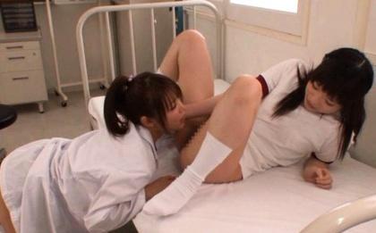 Haruna Maeda and Megumi Shino Crazy Japanese lesbian teens